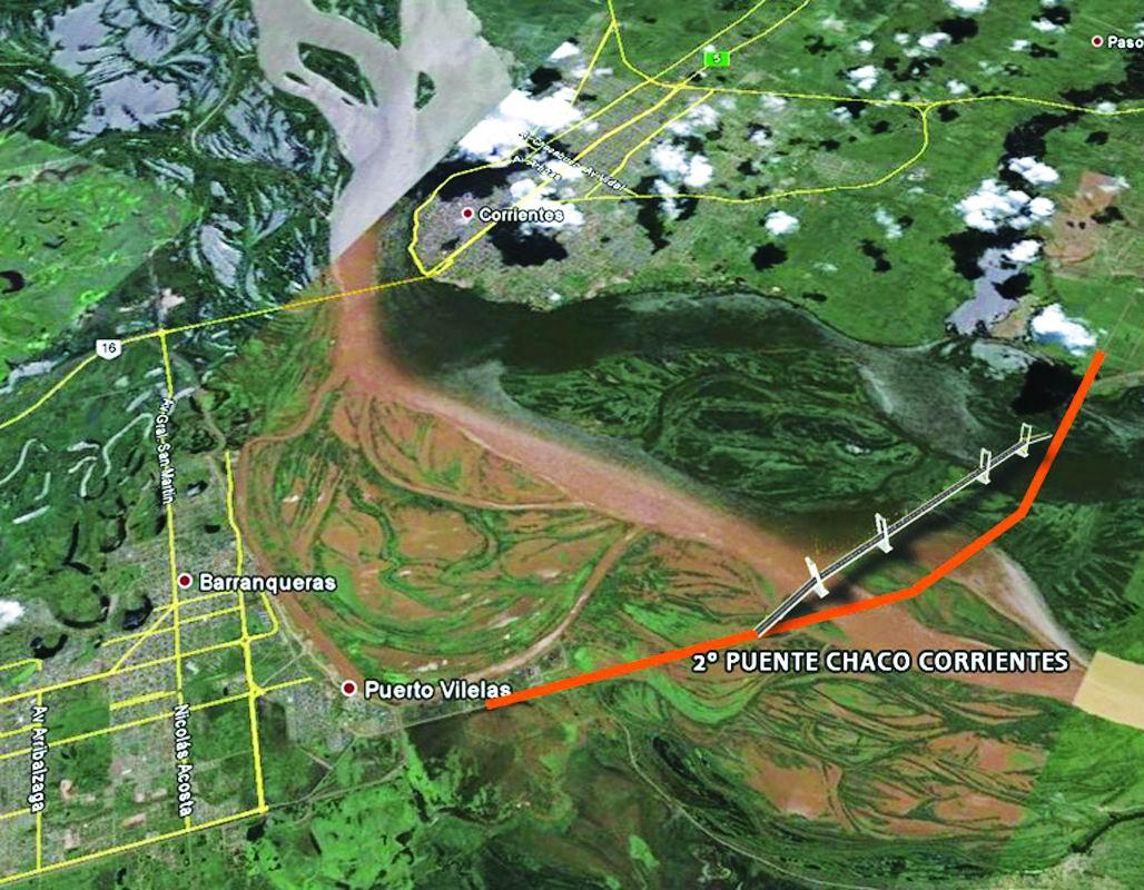 Resultado de imagen para Proyecto segundo puente entre Chaco y Corrientes