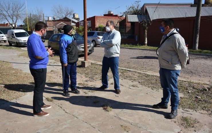 Mejoramiento de calles: obras del San Gerónimo beneficiarán a 800 familias