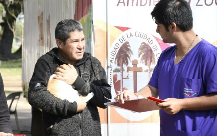 El barrio Santa Margarita recibió al programa Mascotas Saludables