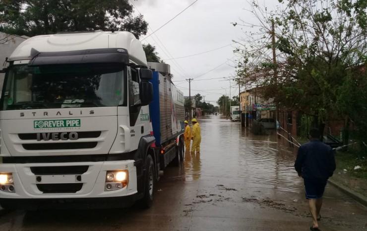 La Ciudad se está normalizando luego de las intensas lluvias