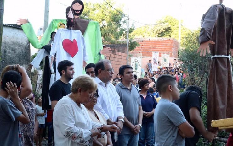 Tassano, en las fiestas patronales en honor a San José