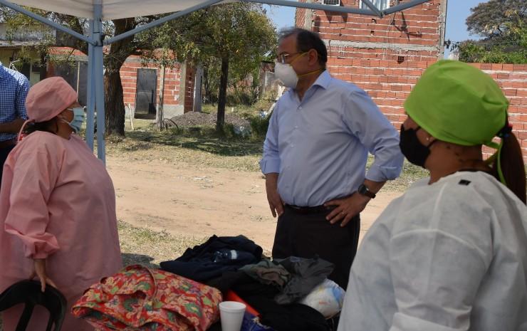 Tassano, en un exitoso operativo de Delegaciones Móviles en el Serantes