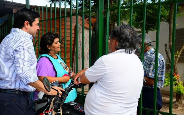 Se realizaron tareas de prevención contra el mosquito en el barrio Independencia