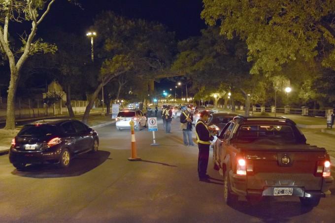 Corrientes: Operativos de seguridad vial