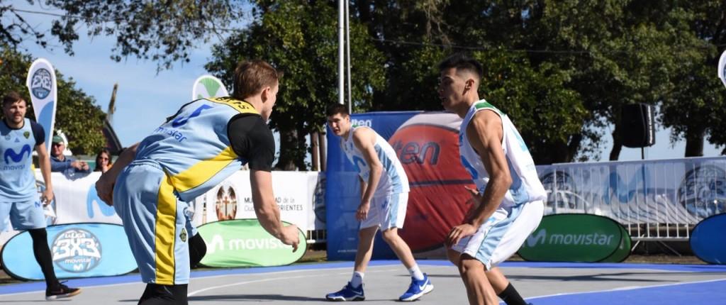 El parque Mitre fue sede de La Liga 3x3 de básquet