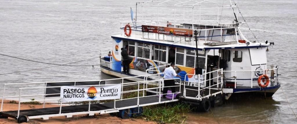 Después de 37 años, la ciudad contará con un catamarán para paseos por el río Paraná