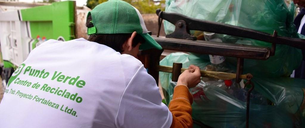 Reciclando Juntos: más de 1.200 kilos de plásticos en cinco meses