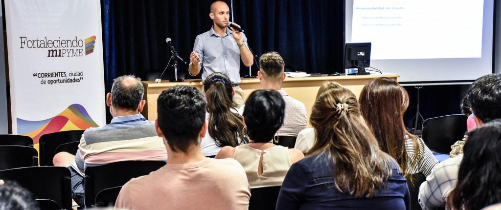 Fortaleciendo Mi Pyme: taller sobre nuevas normativas societarias