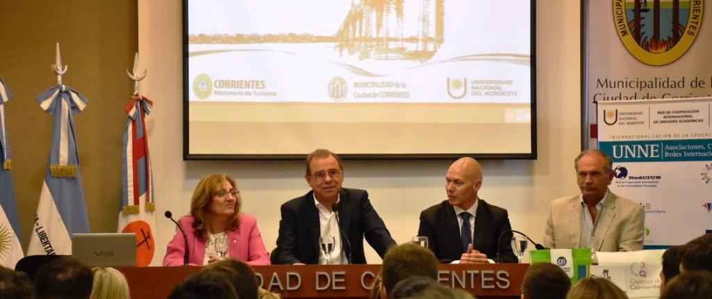 Junto con la Provincia y la UNNE, la Municipalidad busca fortalecer el desarrollo turístico